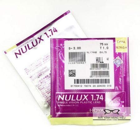 Tròng kính HOYA Nulux 1.74