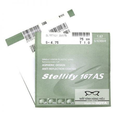 Tròng kính HOYA STELLIFY 1.67
