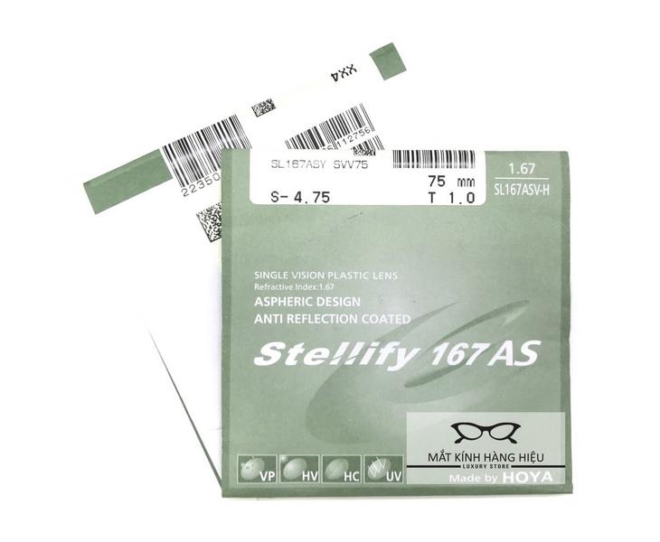 tròng kính hoya Stellify 1.67AS