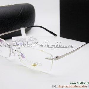 gọng kính cận titanium Cartelo 2347