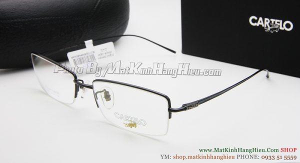 gọng kính cận titanium Cartelo 2350