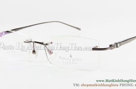 gọng kính cận titanium Peterson 2166