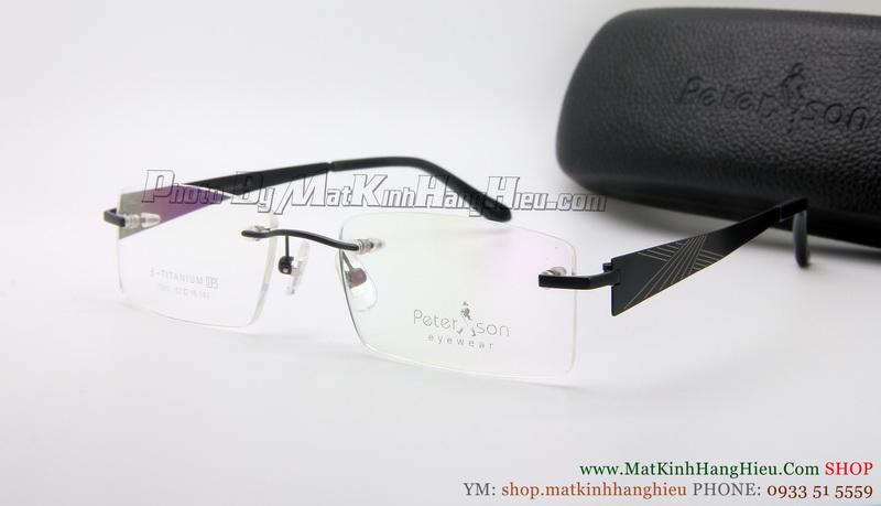gọng kính cận titanium Peterson 7080