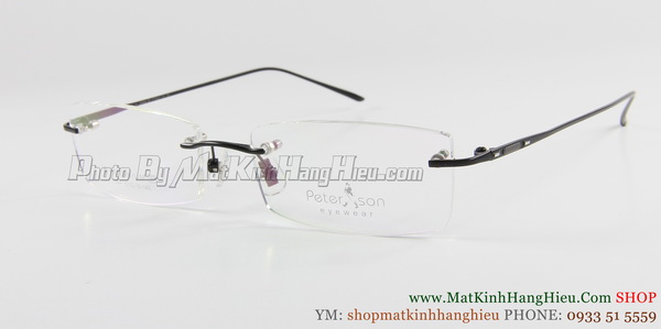 gọng kính cận titanium Peterson 7104