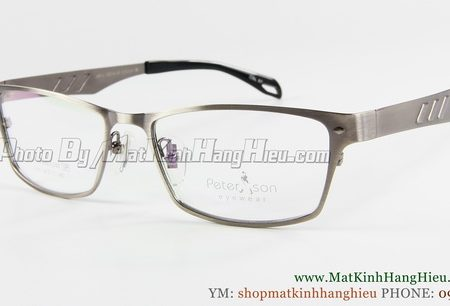 gọng kính cận titanium Peterson 7144