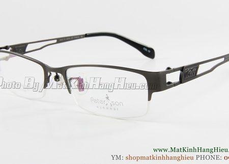 gọng kính cận titanium Peterson 7186