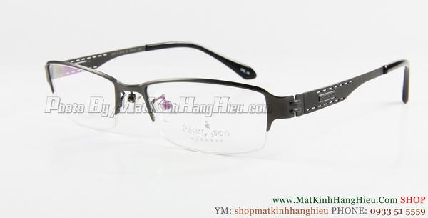 gọng kính cận titanium Peterson 7228