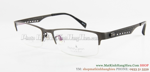 gọng kính cận titanium Peterson 7243