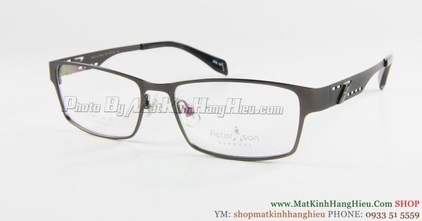 gọng kính cận titanium Peterson 7253