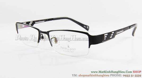 gọng kính cận titanium Peterson 7260