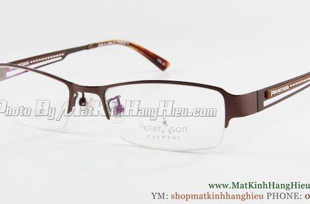 gọng kính cận titanium Peterson 7204