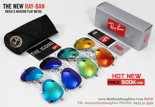 mắt kính RayBan RB3513