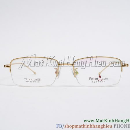 Gọng kính cận Titanium Peterson 2452