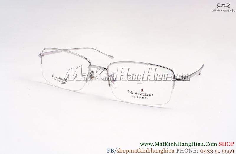 Gọng kính cận Titanium Peterson 2454