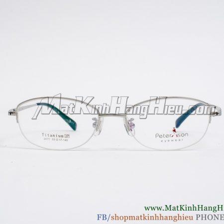 Gọng kính cận Titanium Peterson 2471