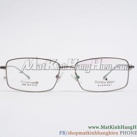 Gọng kính cận Titanium Peterson 2488