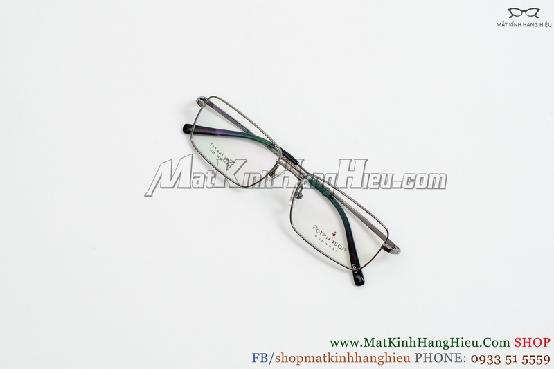 Gọng kính cận Titanium Peterson 2524