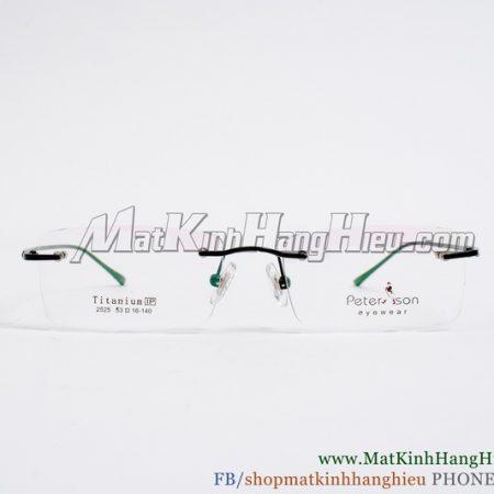 Gọng kính cận Titanium Peterson 2525