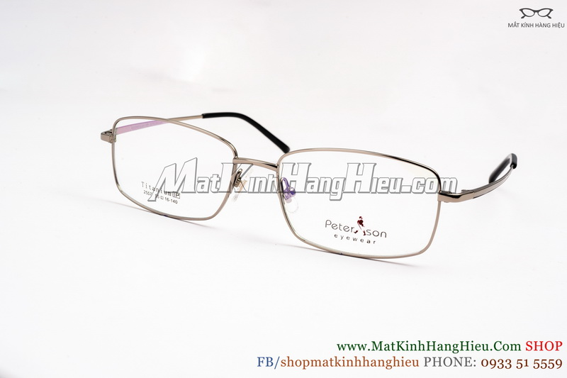 Gọng kính cận Titanium Peterson 2557