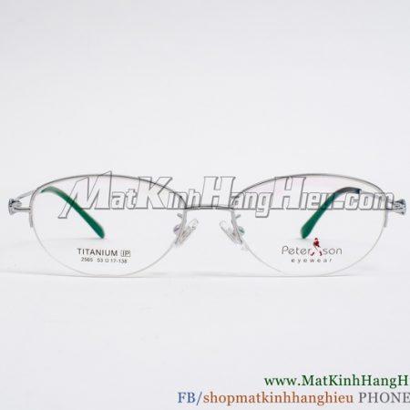 Gọng kính cận Titanium Peterson 2565