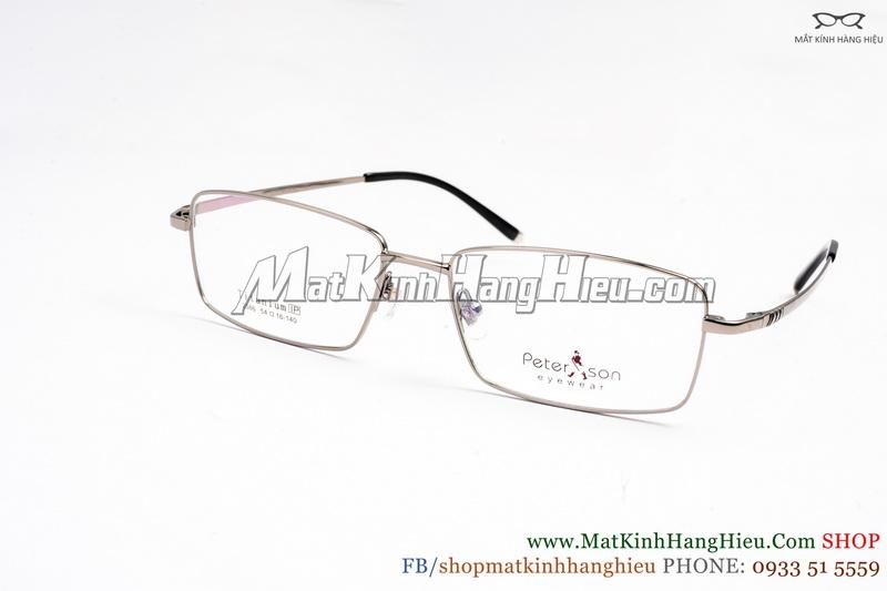 Gọng kính cận Titanium Peterson 2586