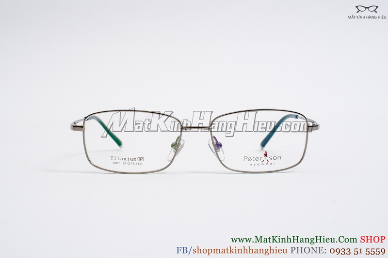 Gọng kính cận titanium peterson 2601