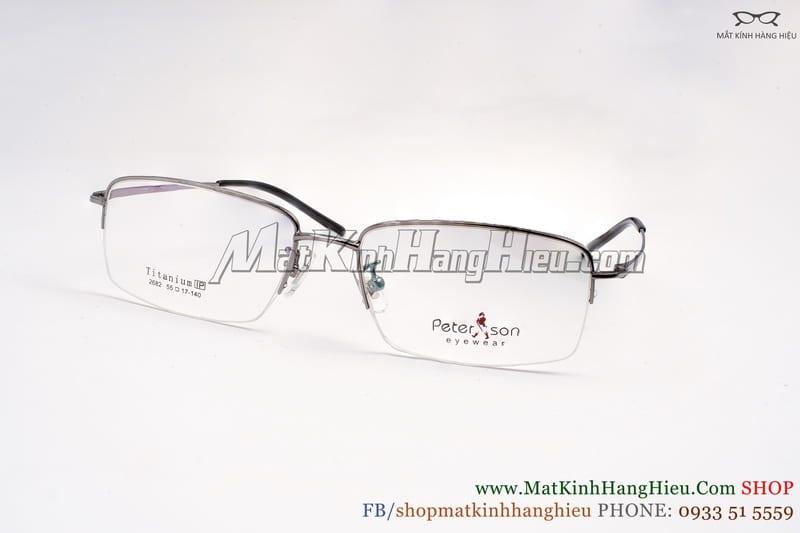 Gọng kính cận Titanium Peterson 2682