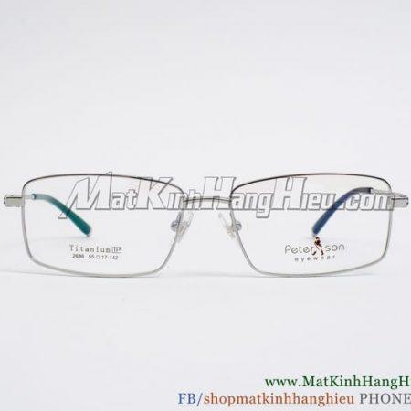 Gọng kính cận Titanium Peterson 2686