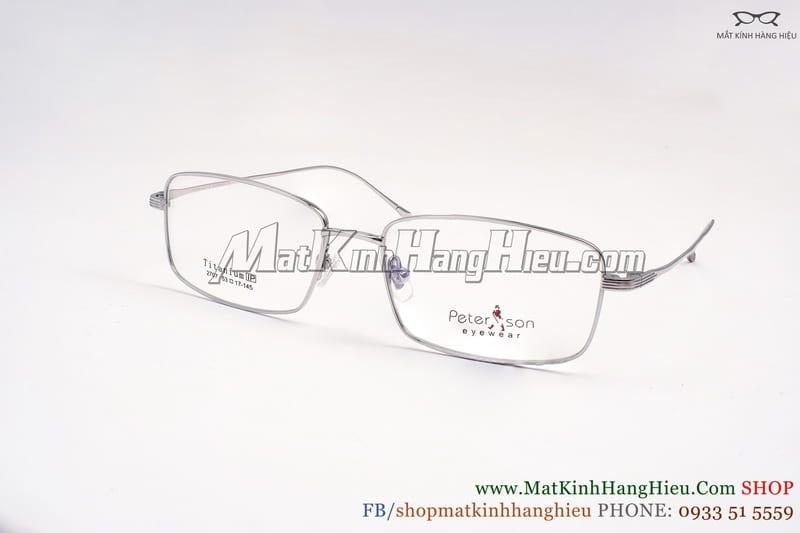 Gọng kính cận Titanium Peterson 2707
