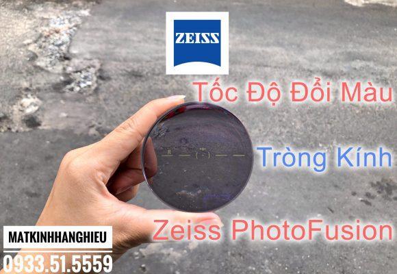 Clip Tròng Kính Đổi Màu Zeiss PhotoFusion