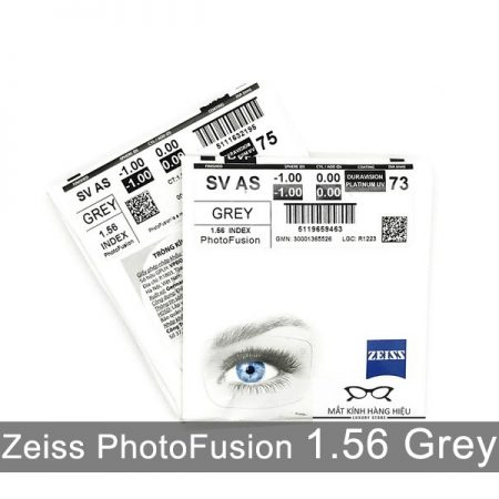 Tròng Kính Đổi Màu Zeiss PhotoFusion 1.56