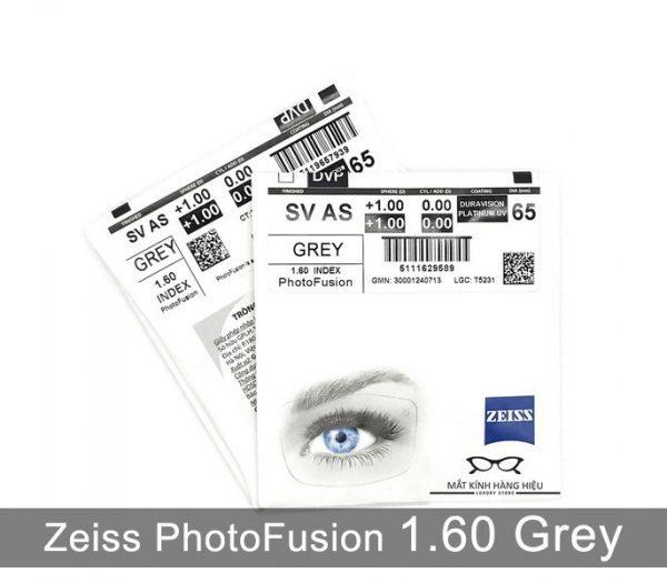 Tròng Kính Đổi Màu Zeiss PhotoFusion 1.60